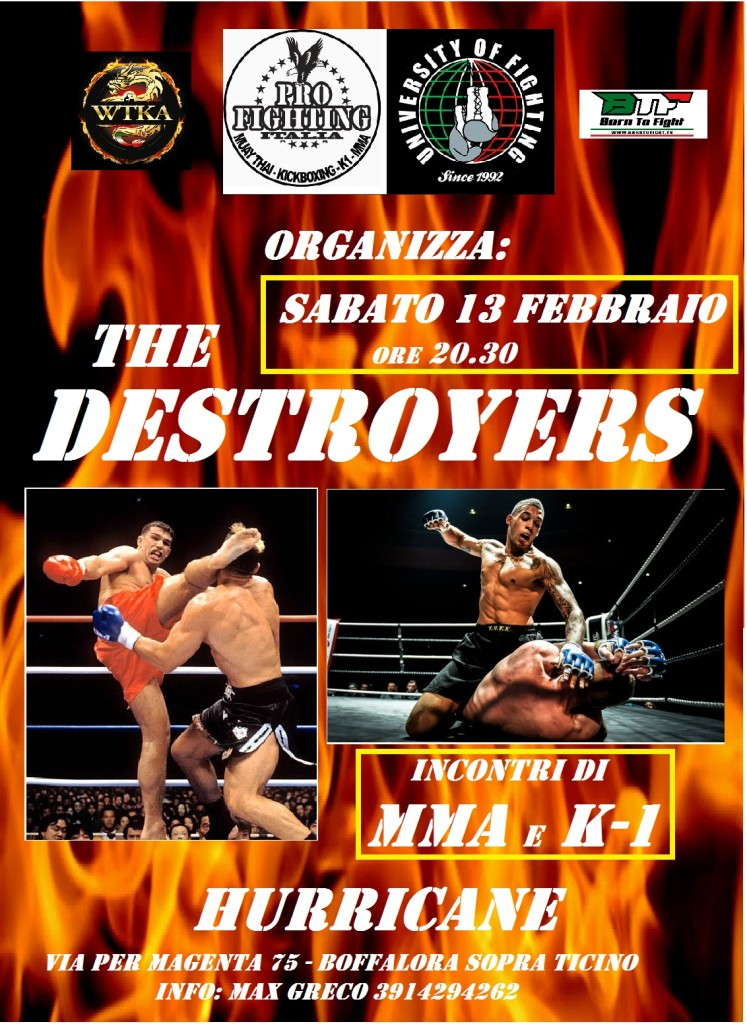 The Destroyers 13/02/2016